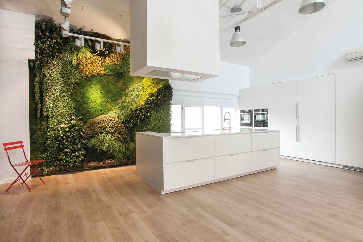 Jardines verticales ideas top para un hogar con personalidad for Jardines verticales para interiores